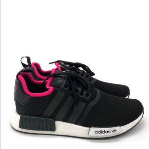 New Men's Adidas Originals NMD R1 Black Pink